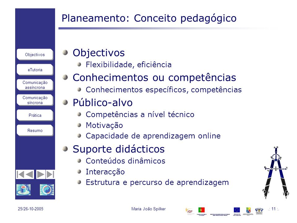 Planeamento: Conceito pedagógico