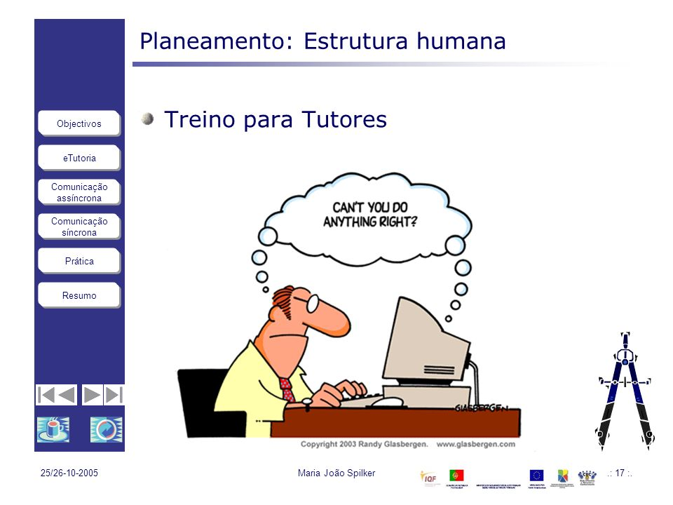 Planeamento: Estrutura humana