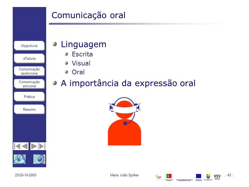 A importância da expressão oral