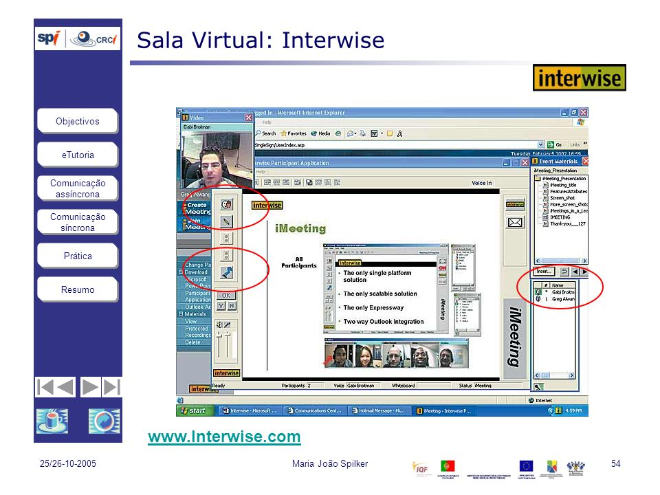 Sala Virtual: Interwise