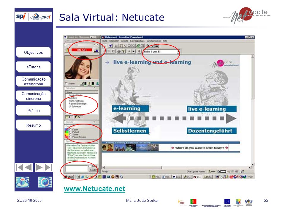 Sala Virtual: Netucate