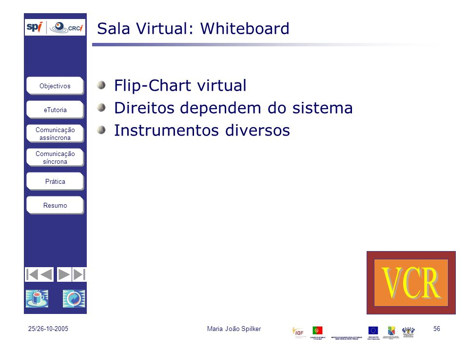 Sala Virtual: Whiteboard