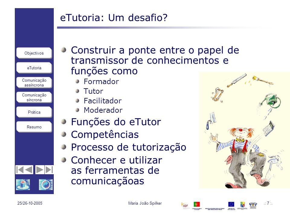 Processo de tutorização
