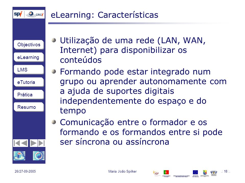 eLearning: Características