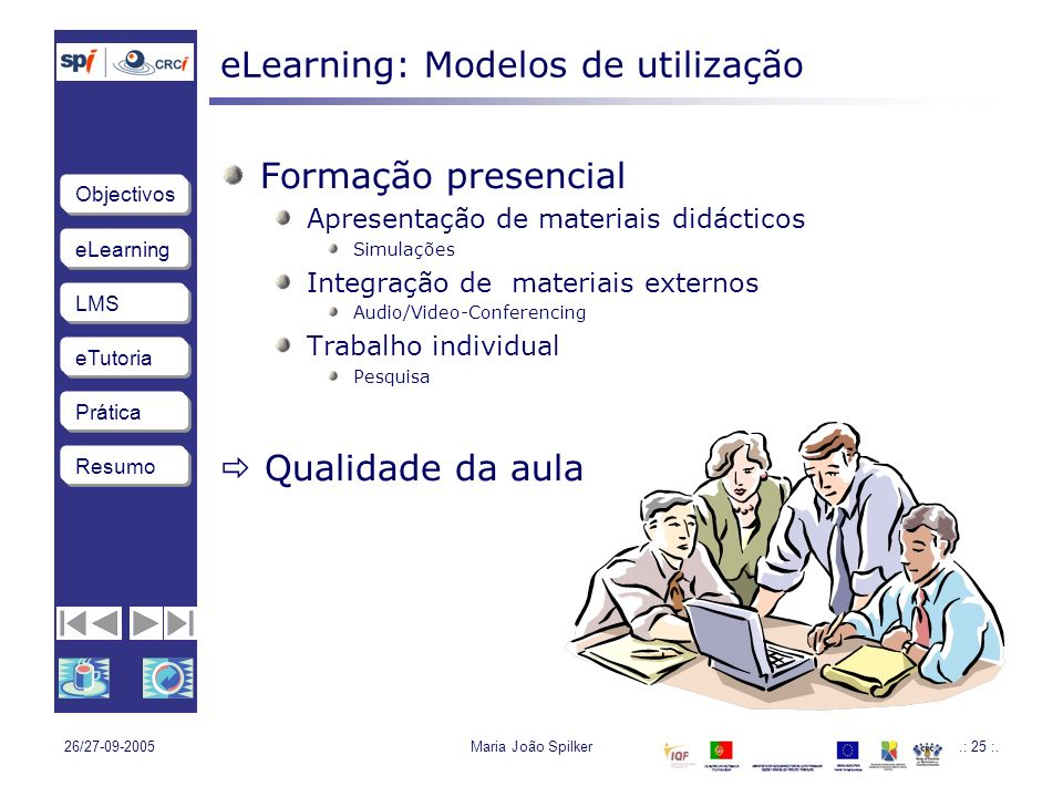 eLearning: Modelos de utilização