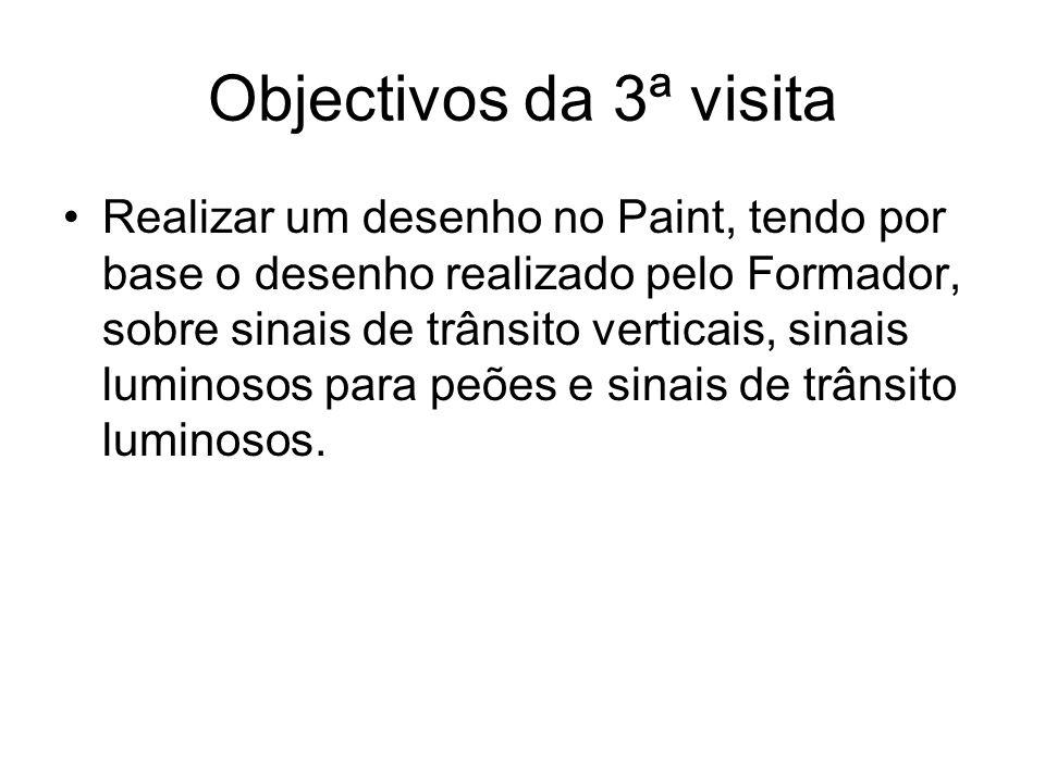 Objectivos da 3ª visita