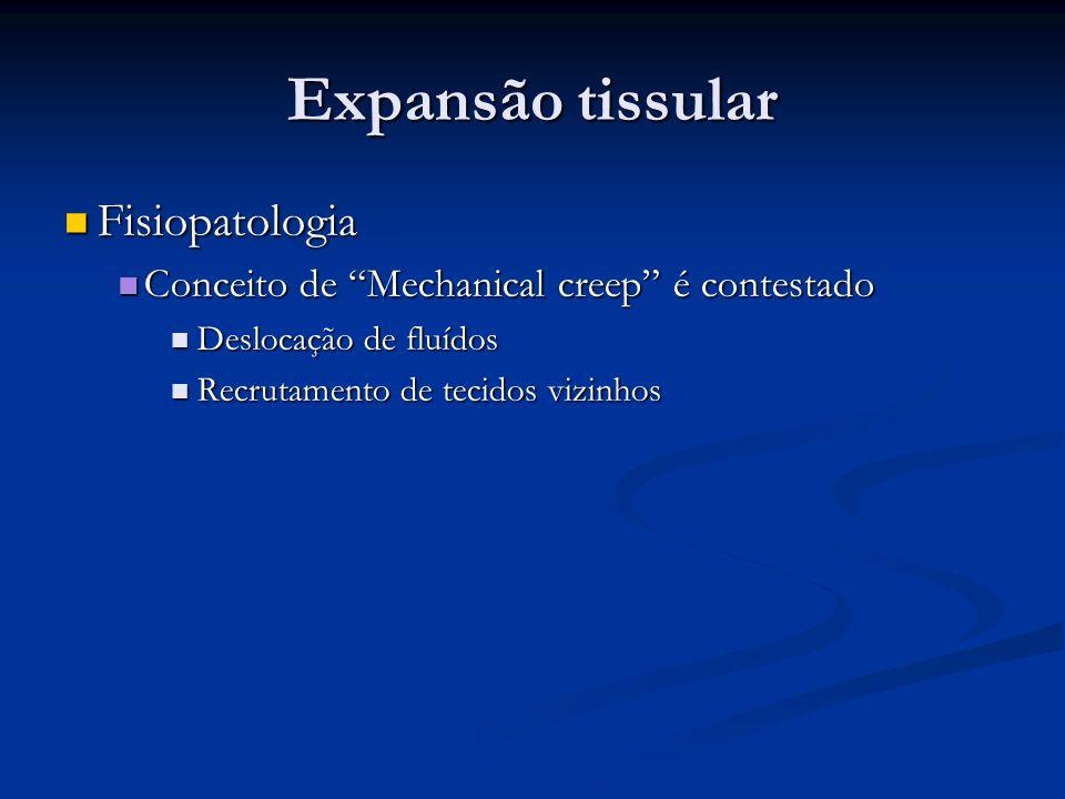 Expansão tissular Fisiopatologia