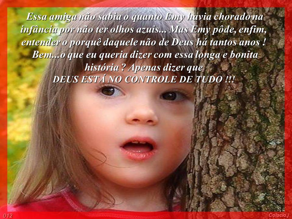DEUS ESTÁ NO CONTROLE DE TUDO !!!