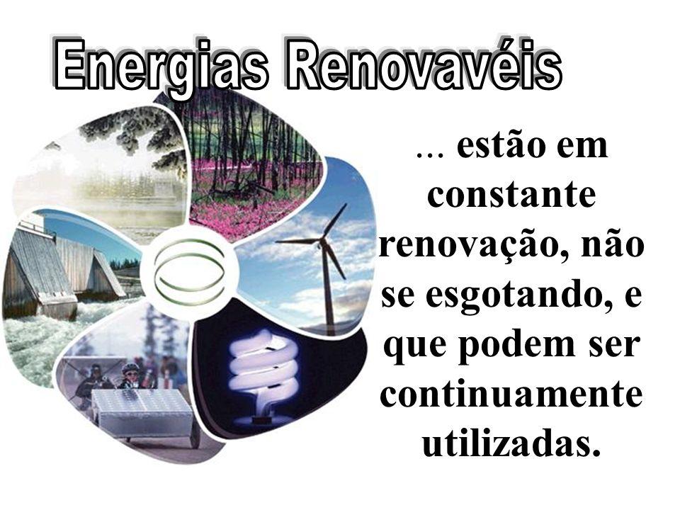 Energias Renovavéis ...