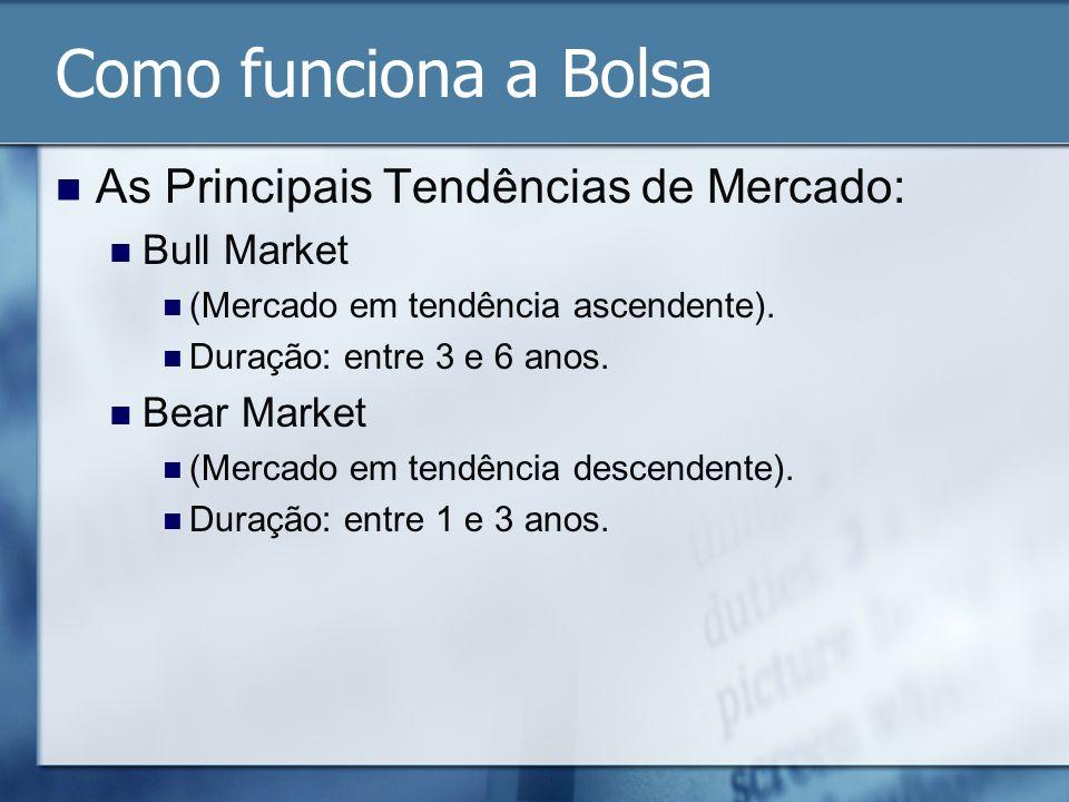 Como funciona a Bolsa As Principais Tendências de Mercado: Bull Market