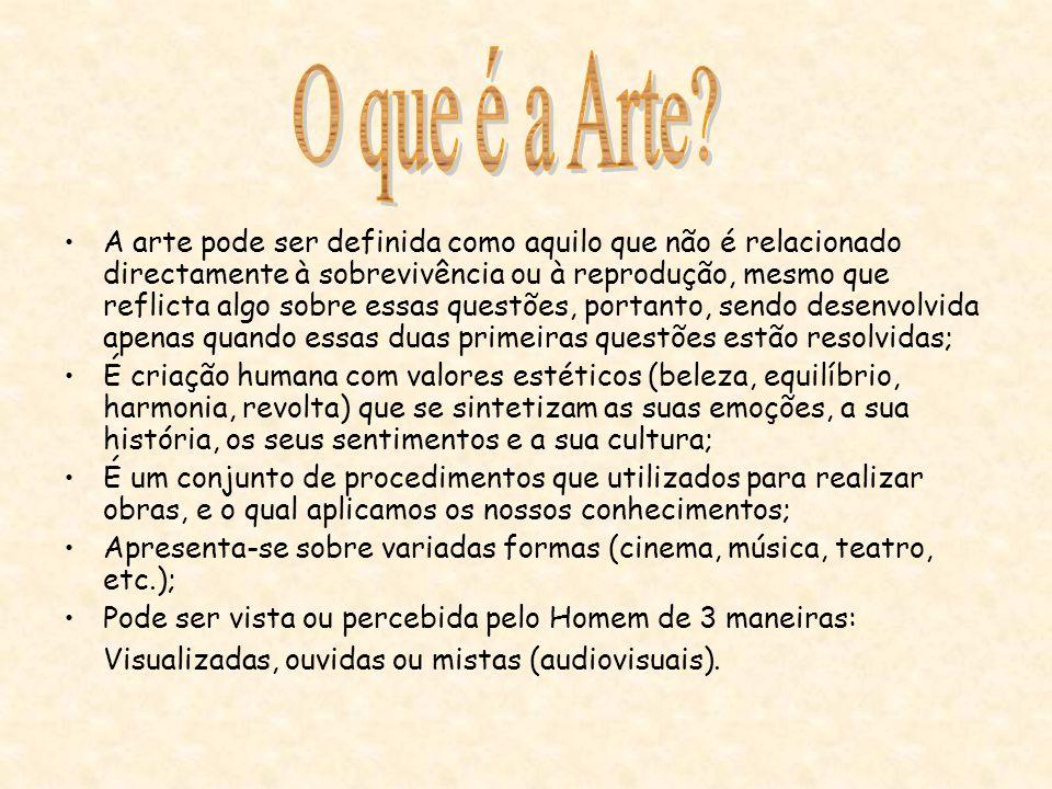 O que é a Arte