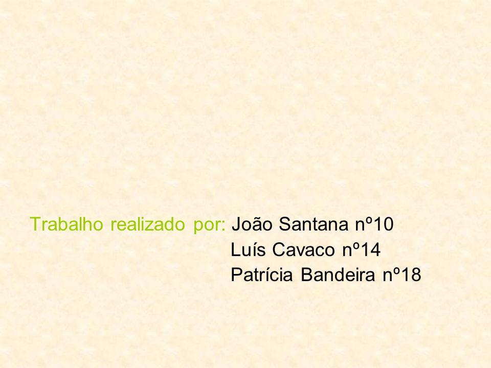 Trabalho realizado por: João Santana nº10