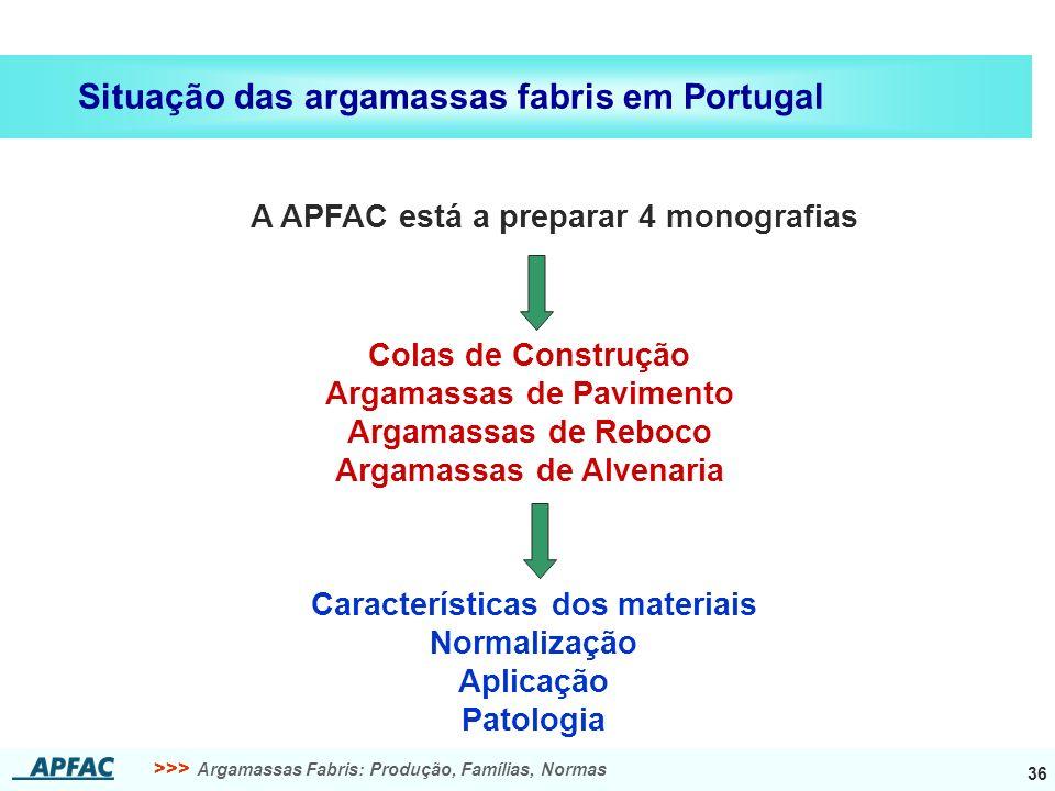 A APFAC está a preparar 4 monografias