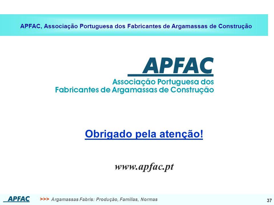 Obrigado pela atenção! www.apfac.pt