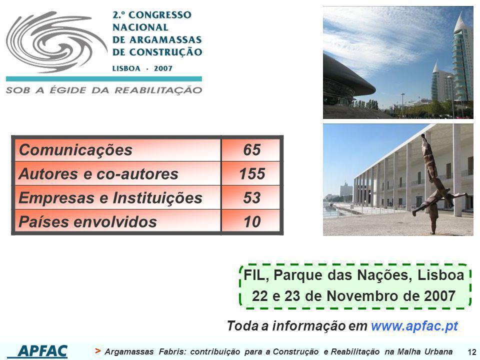 FIL, Parque das Nações, Lisboa