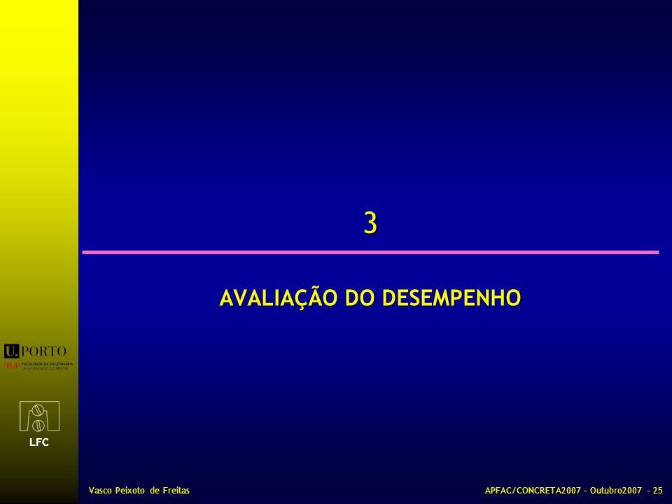 AVALIAÇÃO DO DESEMPENHO