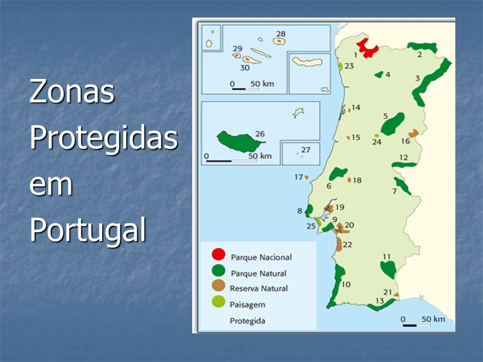 Zonas Protegidas em Portugal