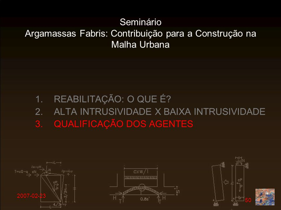 Argamassas Fabris: Contribuição para a Construção na Malha Urbana