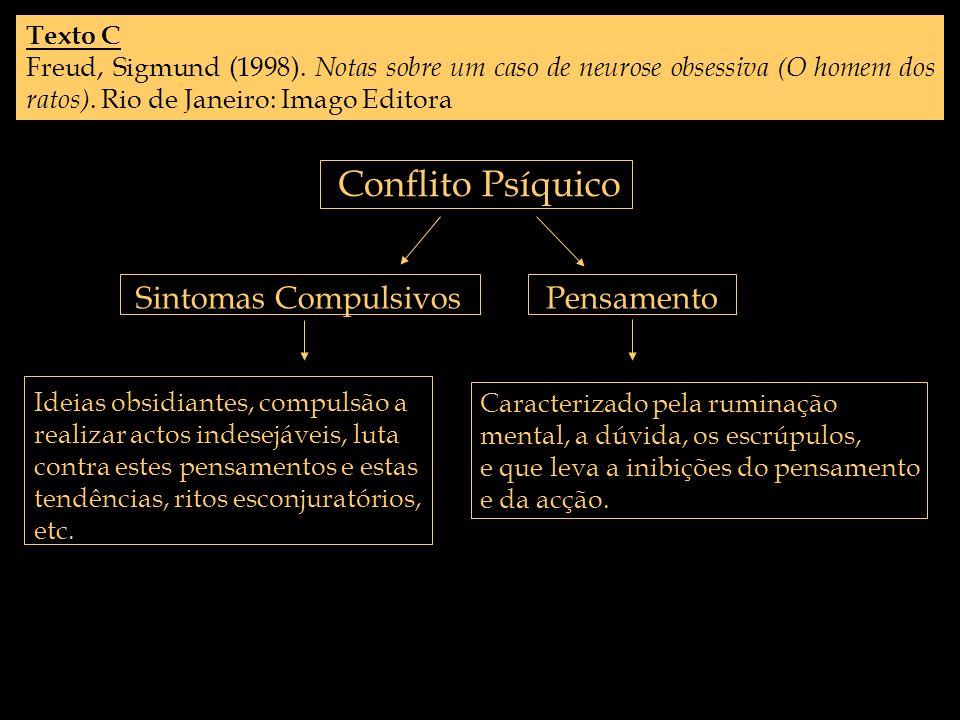 Conflito Psíquico Sintomas Compulsivos Pensamento Texto C