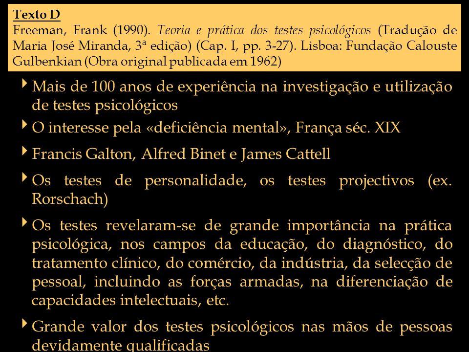 O interesse pela «deficiência mental», França séc. XIX