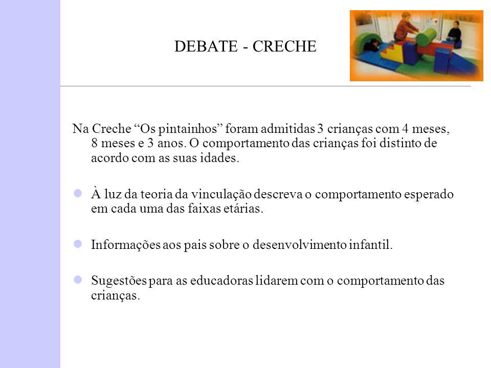 DEBATE - CRECHE