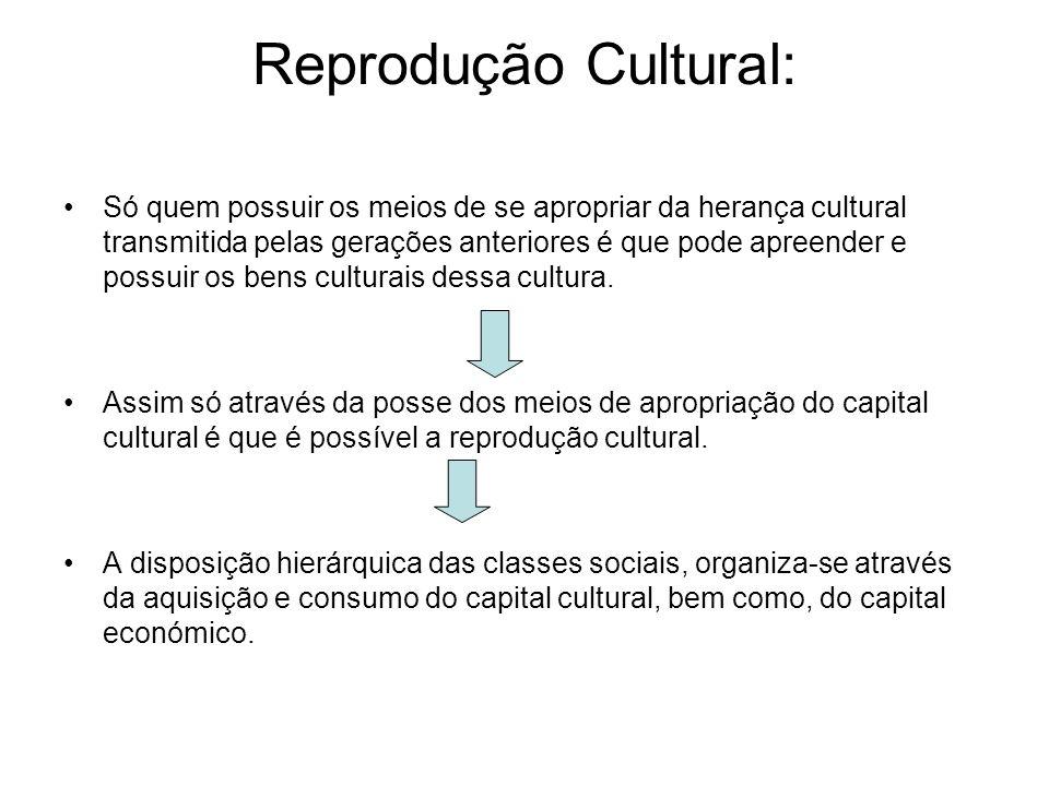 Reprodução Cultural: