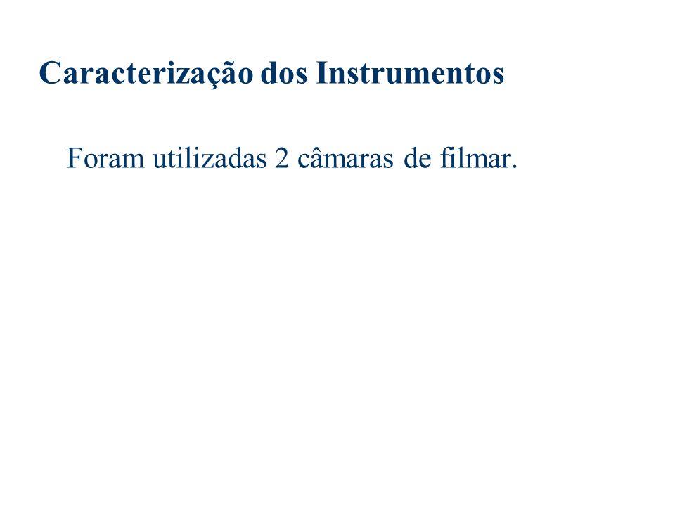 Caracterização dos Instrumentos