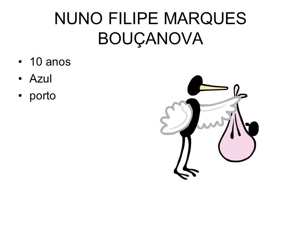 NUNO FILIPE MARQUES BOUÇANOVA