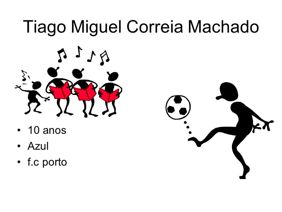 Tiago Miguel Correia Machado
