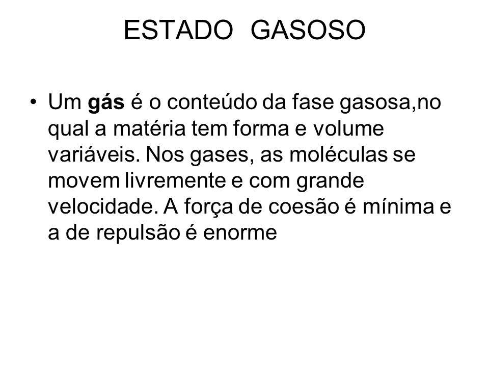 ESTADO GASOSO