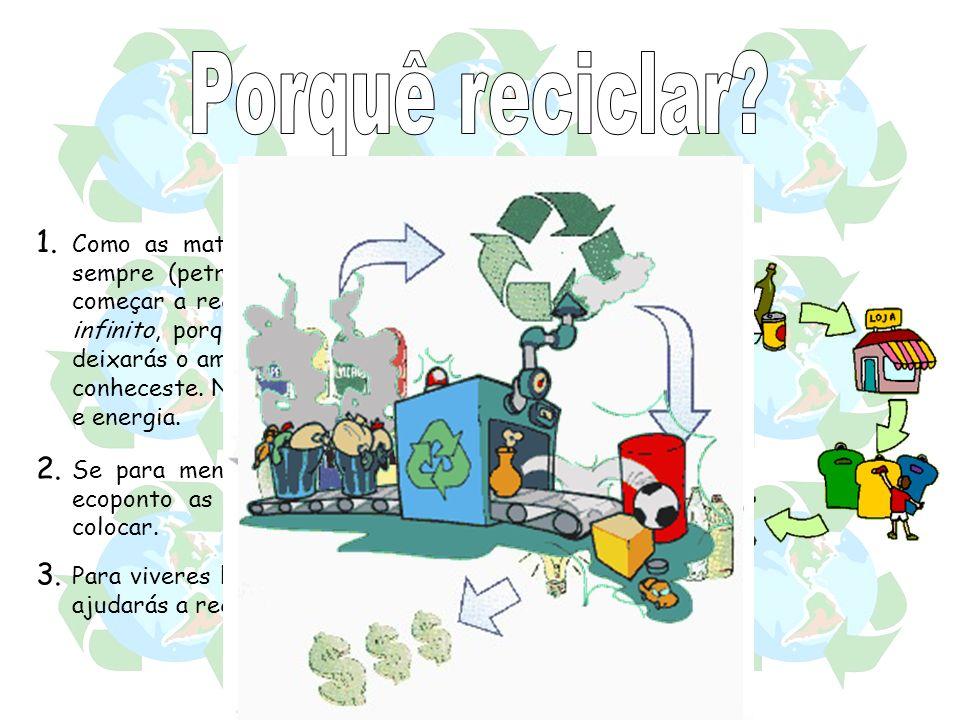 Porquê reciclar