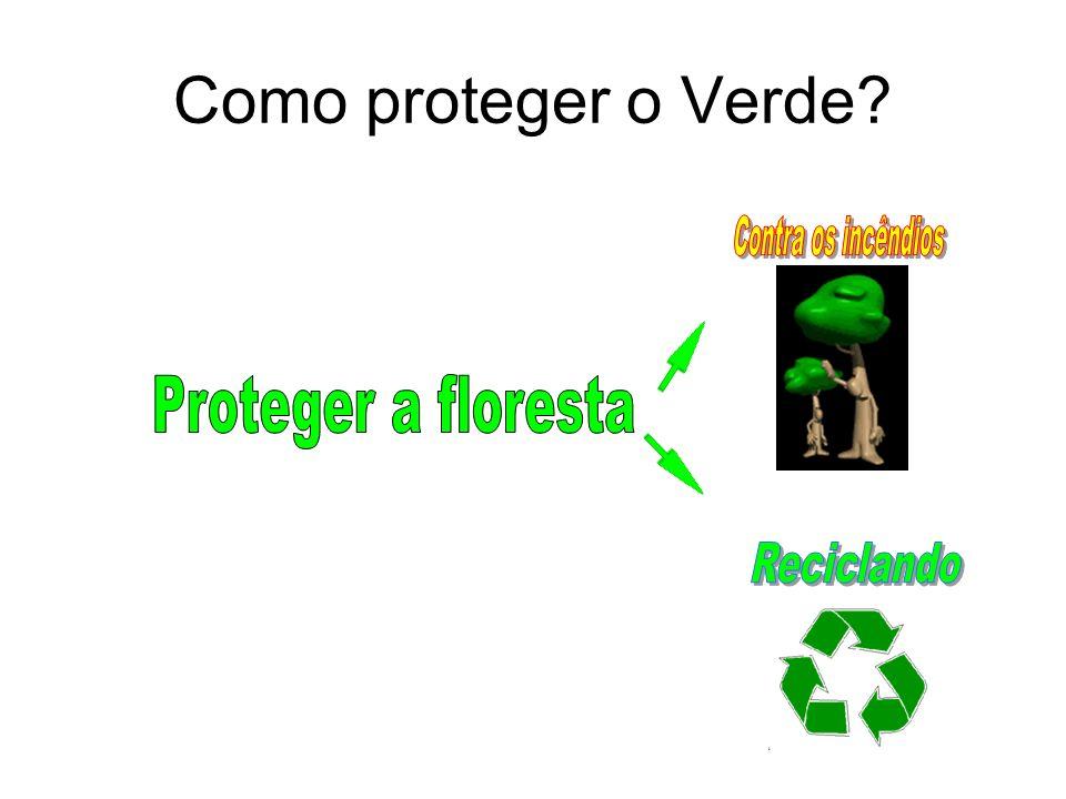 Como proteger o Verde Contra os incêndios Proteger a floresta