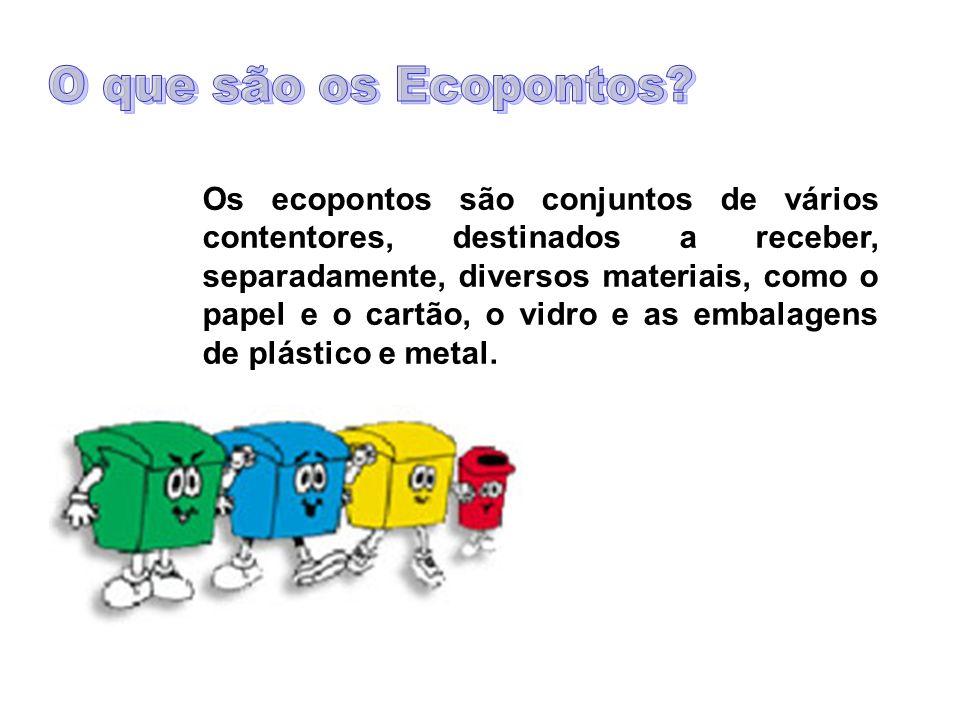 O que são os Ecopontos