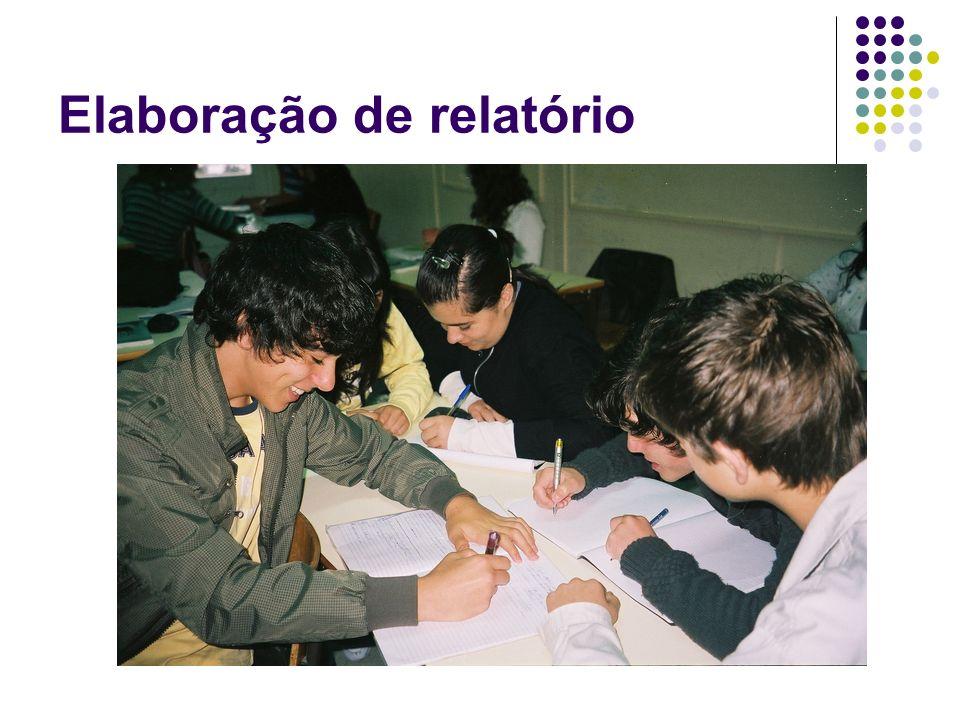 Elaboração de relatório