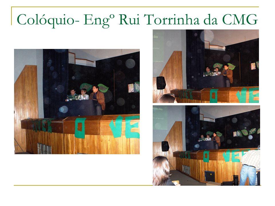 Colóquio- Engº Rui Torrinha da CMG