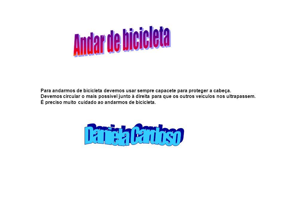 Andar de bicicleta Daniela Cardoso