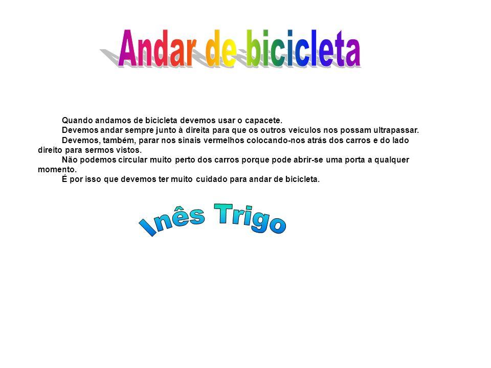 Andar de bicicleta Inês Trigo