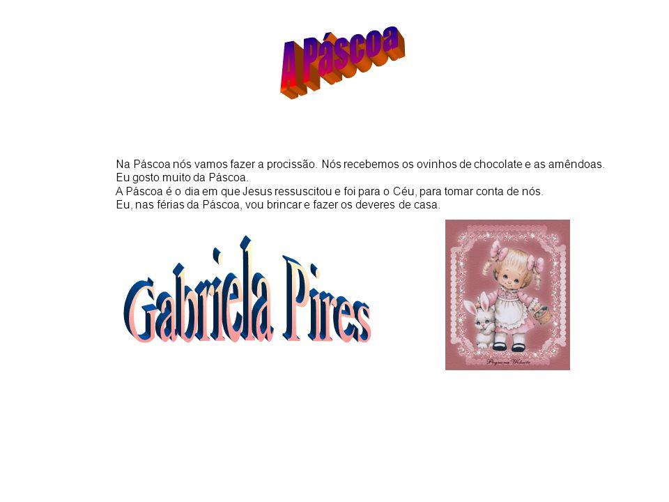 A Páscoa Gabriela Pires