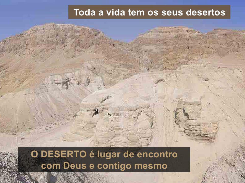 Toda a vida tem os seus desertos