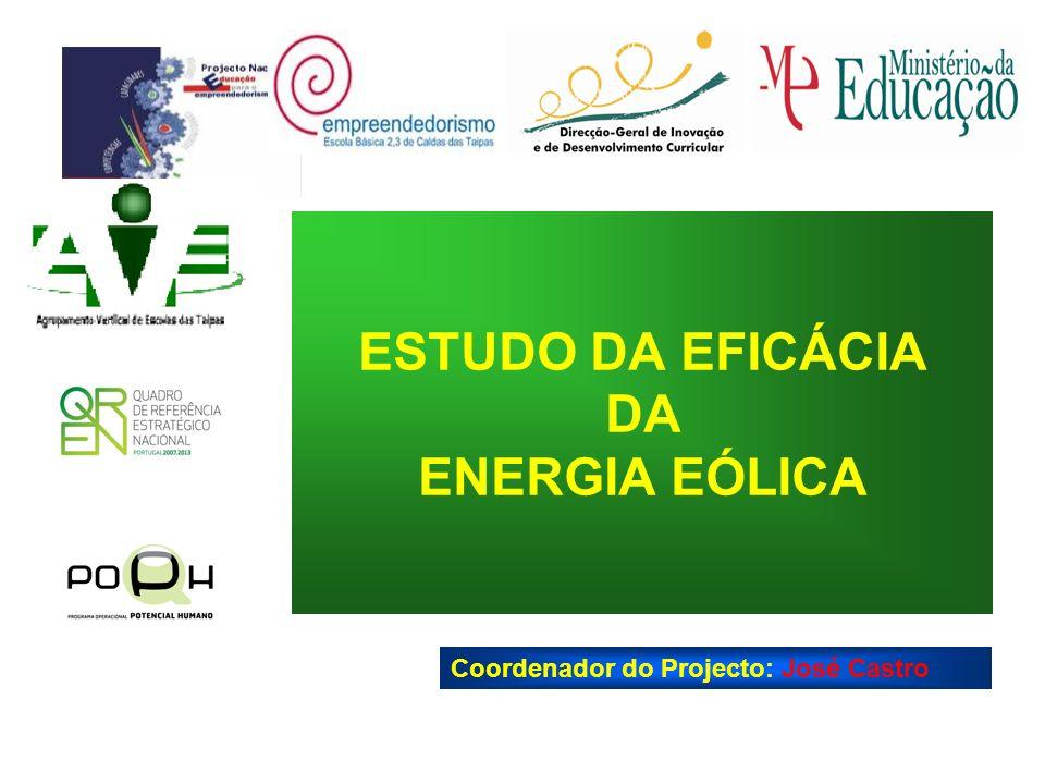 ESTUDO DA EFICÁCIA DA ENERGIA EÓLICA