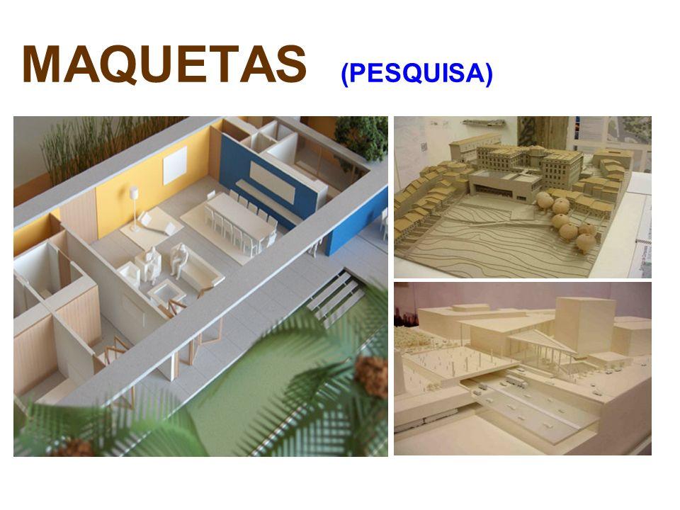MAQUETAS (PESQUISA)