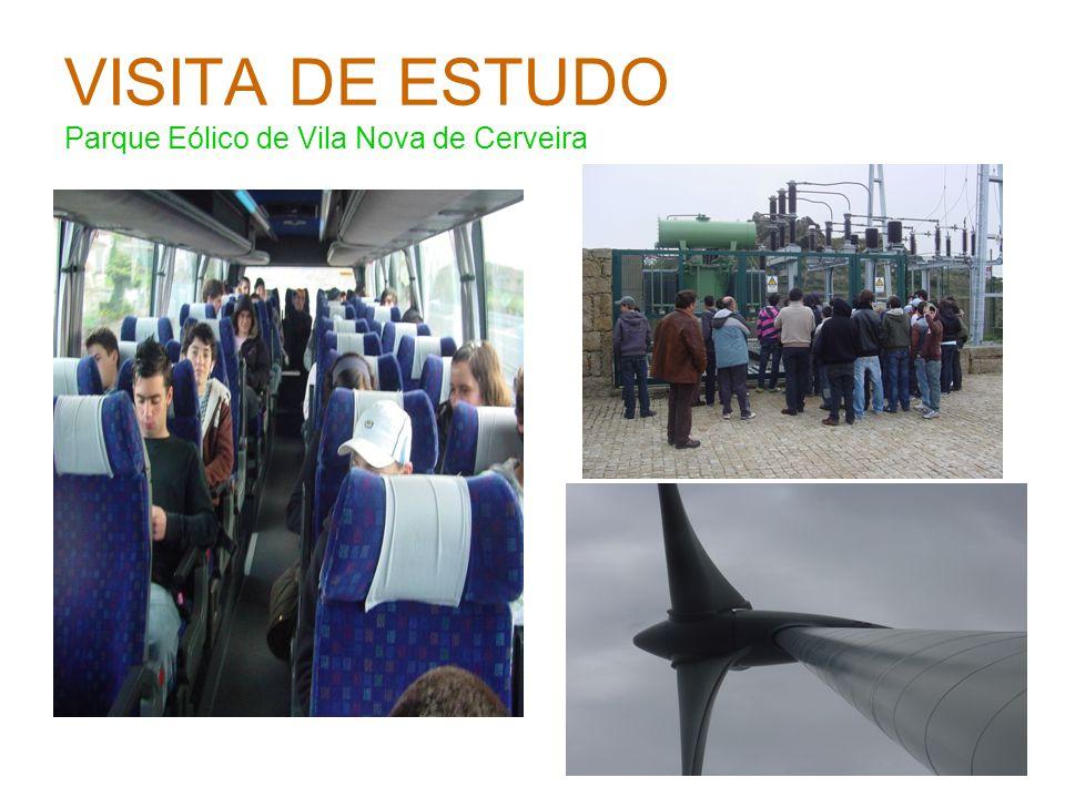VISITA DE ESTUDO Parque Eólico de Vila Nova de Cerveira