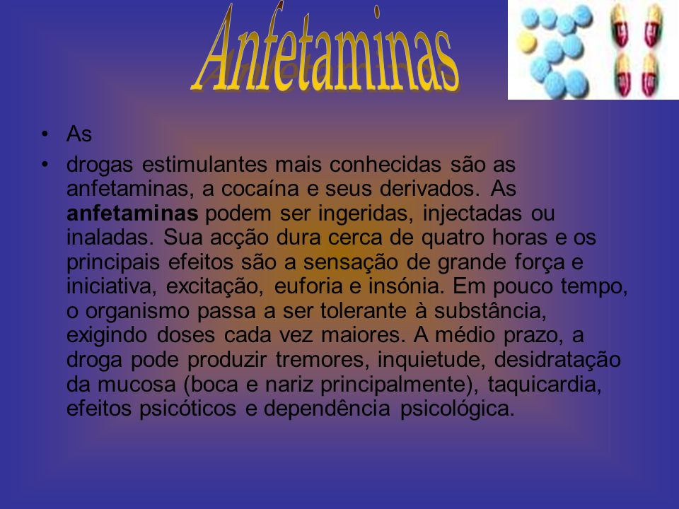 Anfetaminas As.
