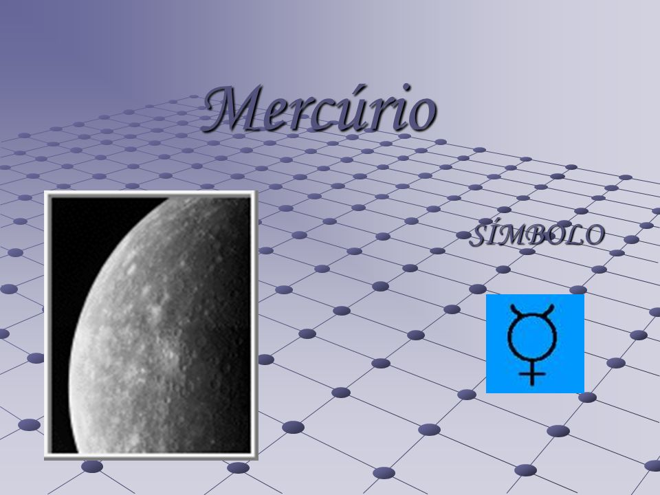 Mercúrio SÍMBOLO