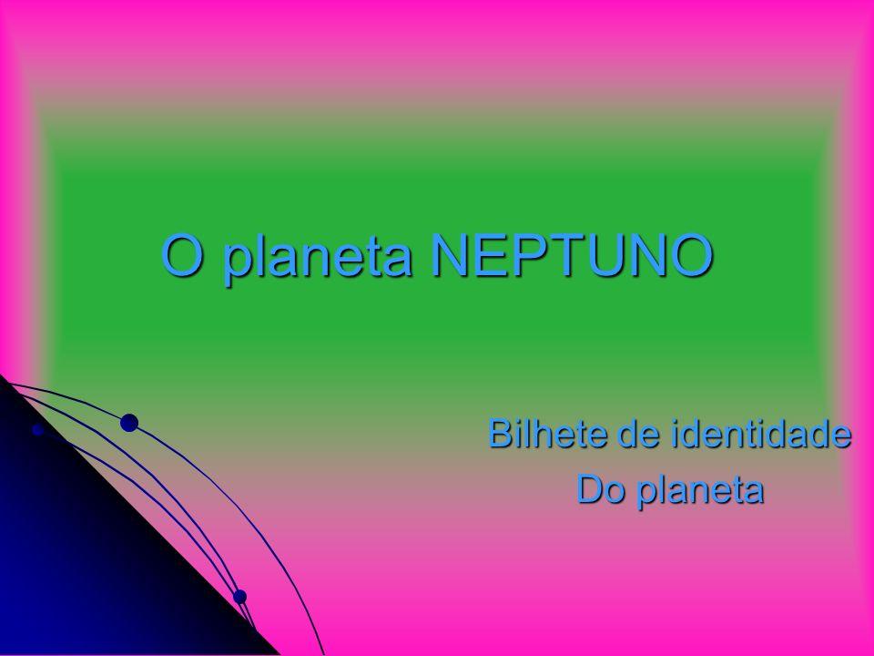 Bilhete de identidade Do planeta