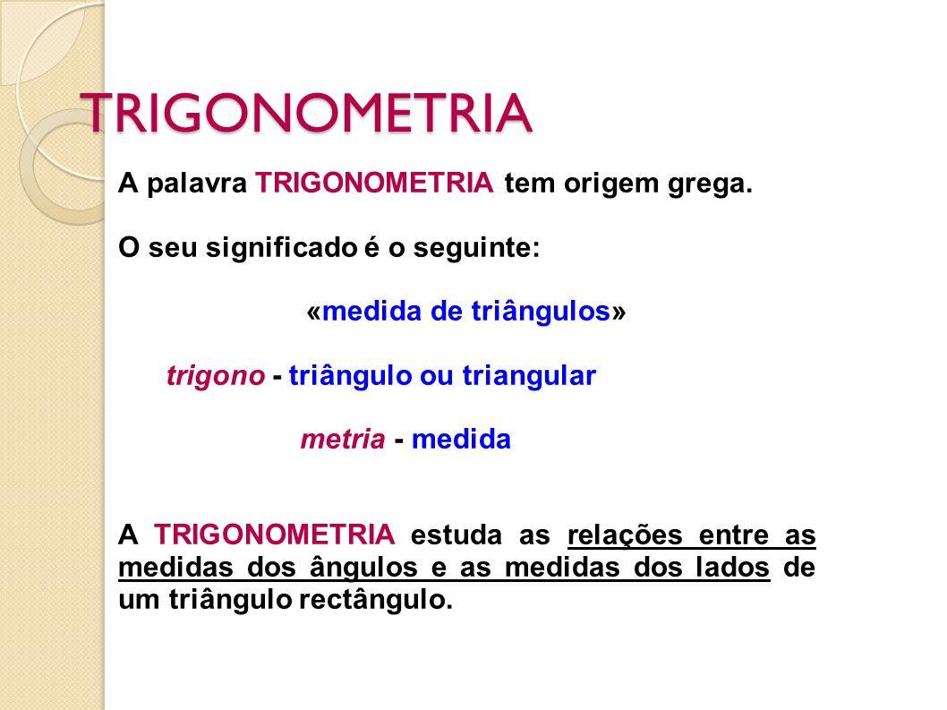 «medida de triângulos»