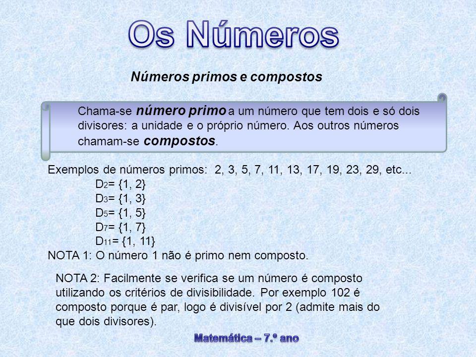 Números primos e compostos