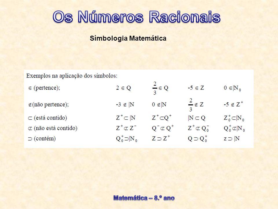 Símbologia Matemática
