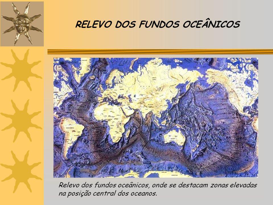 RELEVO DOS FUNDOS OCEÂNICOS