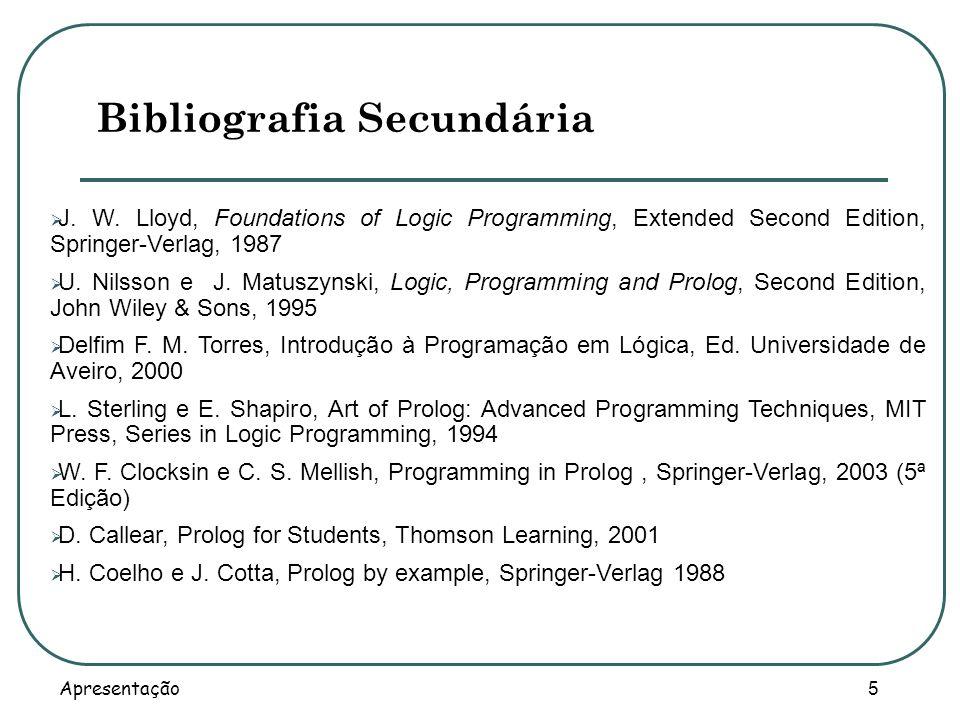 Bibliografia Secundária